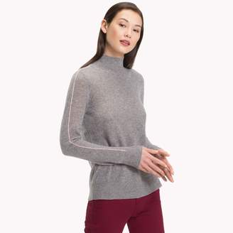 Tommy Hilfiger Cashmere Piped Sweater