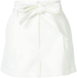 3.1 Phillip Lim High waist twill shorts