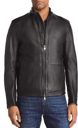 BOSS Nestal Leather Jacket