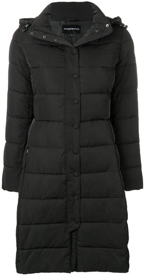 puffer loose coat