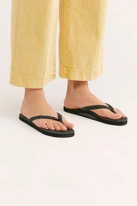Rainbow Flirty Braidy Thong Sandal