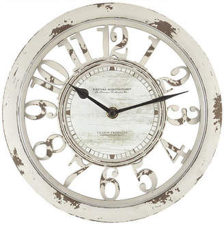 Co Firstime and Antique Contour Wall Clock