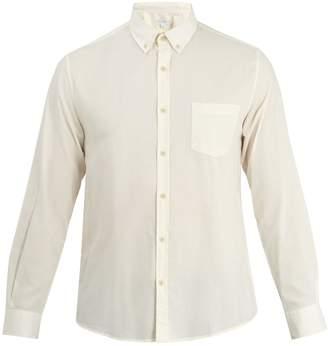 Sunspel Patch-pocket button-down collar cotton shirt