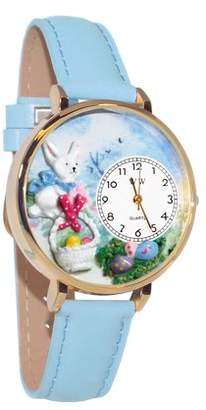 Whimsical Watches Easter Eggs Watch in Gold (Large)