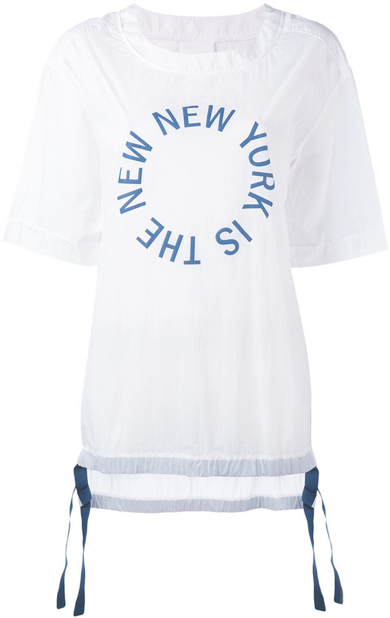DKNYDKNY The New New York Shirt with drawcords