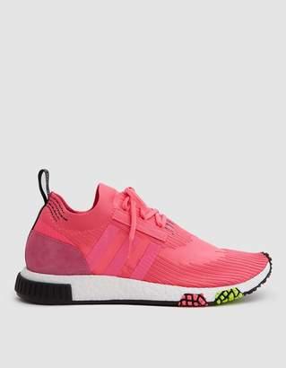 adidas NMD_Racer Primeknit Sneaker in Solar Pink