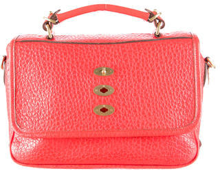 Mulberry Pebbled Leather Bryn Satchel $470 thestylecure.com