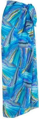 Gottex Oceanic Print Sarong