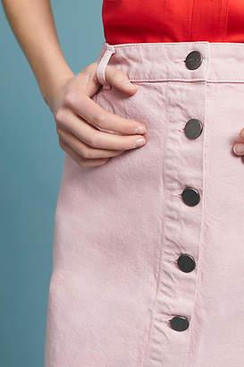 Just Female Amaranth Denim Pencil Skirt