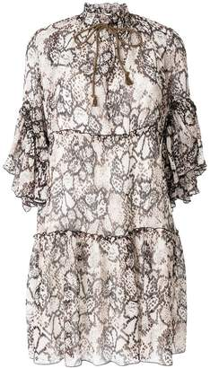 See by Chloe tiered flared dress
