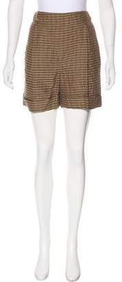 Lela Rose Knit Mini Shorts
