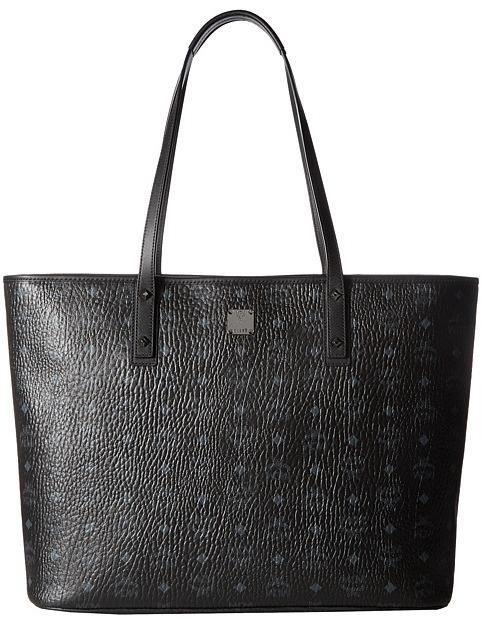 MCMMCM - Anya Shopper Top Zip Large Shopper Tote Handbags