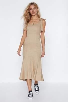 Nasty Gal Nothing to Lose Midi Dress