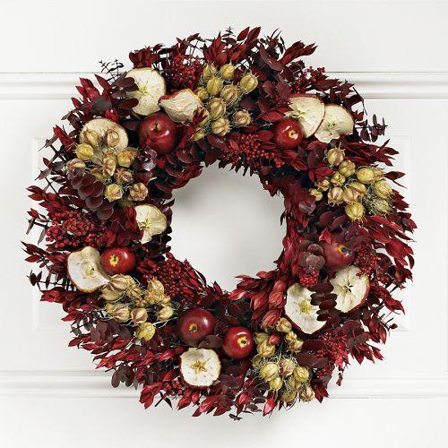 Williams-Sonoma Apple Wreath