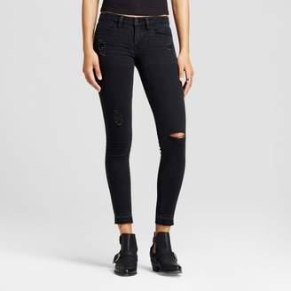 Dollhouse Women's Slit Knee Step Hem Crop Jeans - Dollhouse® (Juniors') $32.99 thestylecure.com