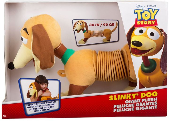 Slinky Disney / Pixar Toy Story Slinky Dog Plush by Slinky
