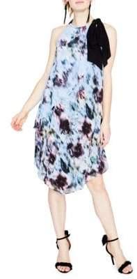 Rachel Roy Printed Scarf Dress