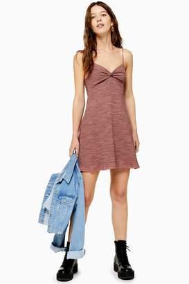 Topshop Space Dye Flippy Dress