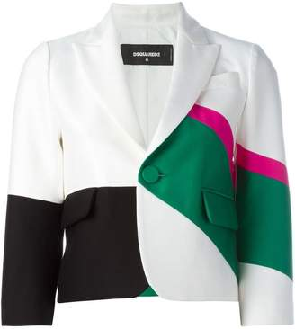 DSQUARED2 cropped blazer