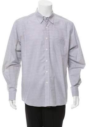 Billy Reid Striped Button-Up Shirt
