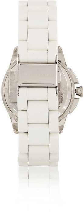 Karl Lagerfeld Klassic Seven stainless steel and silicone watch