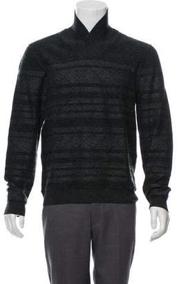 John Varvatos Converse by Wool Striped Sweater