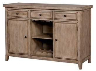 HOMES: Inside + Out Courtney Server Rustic Natural Wood - ioHOMES