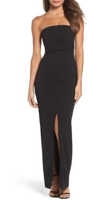 LuLu s Own the Night Strapless Maxi Dress 411d7a216