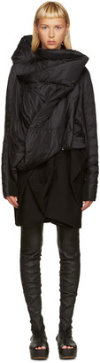 Rick Owens Black Down Guimard Jacket $2,375 thestylecure.com