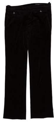 Gucci Mid-Rise Straight-Leg Pants