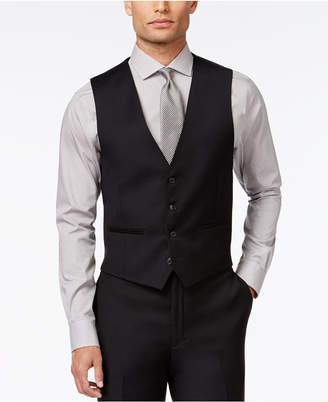 Calvin Klein Closeout! Black Solid Modern Fit Vest