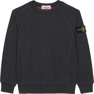 Stone Island Crew neck cotton sweatshirt 4-14 years $115 thestylecure.com