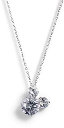 Disney Mickey Crystal Pendant Necklace