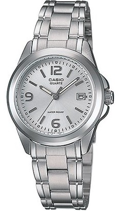 Casio Women's Silver Dial Stainless-Steel Bracelet Watch