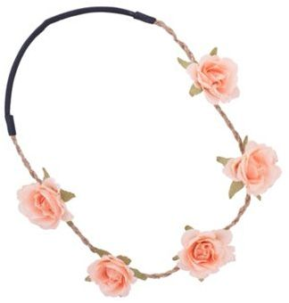 Festival Peach Flower Headband