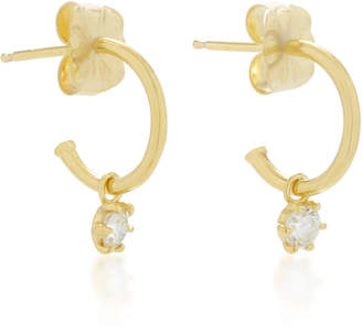 Ila Gideon 14K Gold And Diamond Earrings