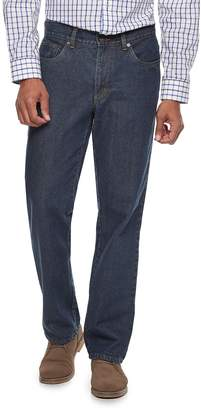 Croft & Barrow Men's Straight-Fit Flannel-Lined Jeans