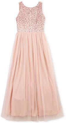 Speechless Little Girls Jeweled Maxi Dress