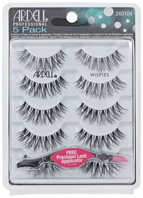 Ardell 5 Pack Black Wispies Lashes $17.99 thestylecure.com