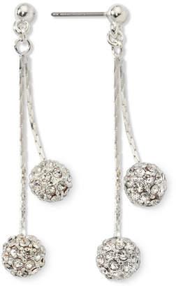 JCPenney MONET JEWELRY Monet Crystal Linear Drop Earrings