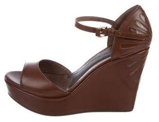 Marni Leather Platform Wedges