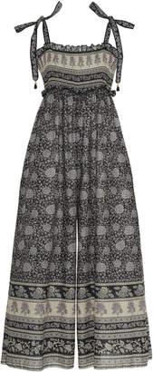 Zimmermann Amari Floral-Print Cotton Jumpsuit