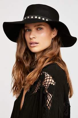 Fiori Studded Band Felt Hat