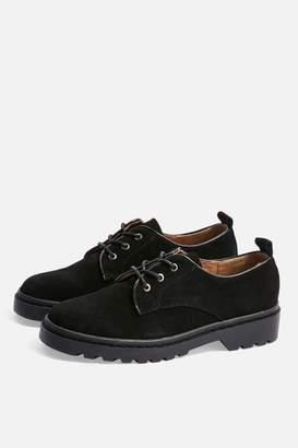 Topshop Fire Lace Up Shoes