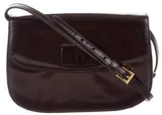 Prada Vitello Turn Lock Flap Bag