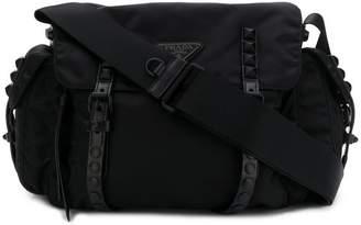 Prada New Vela tonal stud bag