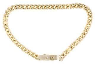 By Malene Birger Gold-Tone Chain-link Belt