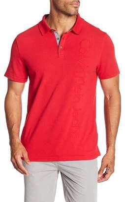 Calvin Klein Jeans Embossed Vertical Logo Polo