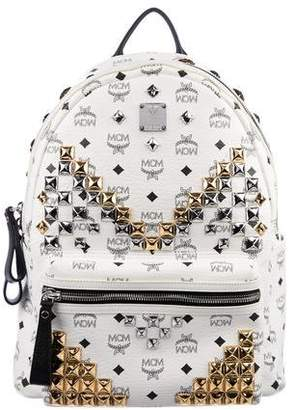 MCM Stark M Stud Backpack