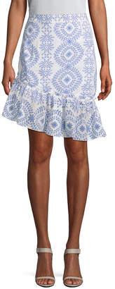 Paul & Joe Sister Kiouty Printed Asymmetric Skirt